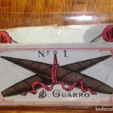 Papel de fumar: PAPEL DE FUMAR O LIAR - GUARRO Nº 1 - NO TIENE PAPEL. Lote 129026095