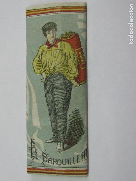 PAPEL DE FUMAR - EL BARQUILLERO - LEOPOLDO FERRANDIZ- (Coleccionismo - Objetos para Fumar - Papel de fumar )