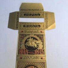 Papel de fumar: LIBRITO DE PAPEL DE FUMAR RAS RAS. Lote 158099948