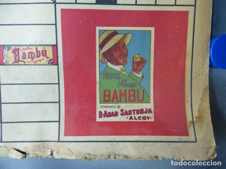 Papel de fumar: PAPEL DE FUMAR BAMBU - ANTIGUO Y BONITO PARCHIS - Foto 4 - 132648758