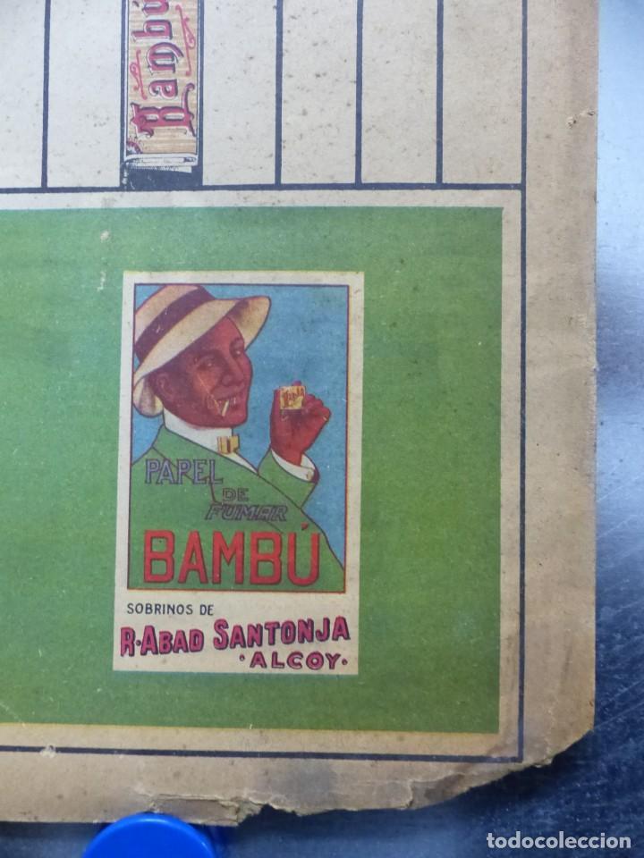 Papel de fumar: PAPEL DE FUMAR BAMBU - ANTIGUO Y BONITO PARCHIS - Foto 5 - 132648758