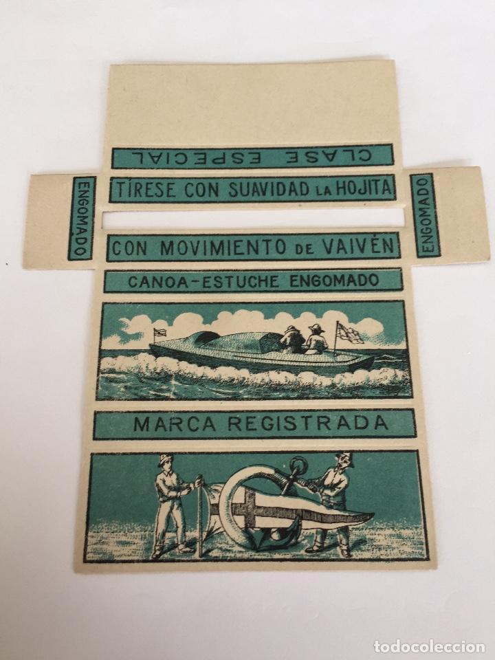 LIBRITO DE PAPEL DE FUMAR LA CANOA (Coleccionismo - Objetos para Fumar - Papel de fumar )