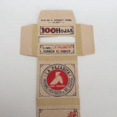 Papel de fumar: LIBRITO DE PAPEL DE FUMAR LA PAJARITA. Lote 133023362