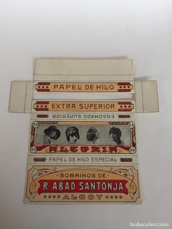 LIBRITO DE PAPEL DE FUMAR ALEGRIA (Coleccionismo - Objetos para Fumar - Papel de fumar )