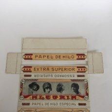 Papel de fumar: LIBRITO DE PAPEL DE FUMAR ALEGRIA. Lote 133024194