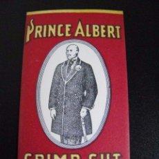 Papel de fumar: PAPEL DE FUMAR PRINCE ALBERT - USA - 2ª GUERRA MUNDIAL. Lote 219452762