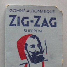 Papel de fumar: PAPEL DE FUMAR ZIG-ZAG. Lote 136544994
