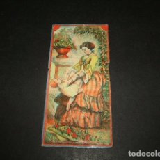 Papel de fumar: PAPEL DE FUMAR SIGLO XIX CROMO DE LIBRILLO. Lote 138760642