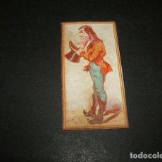 Papel de fumar: PAPEL DE FUMAR SIGLO XIX CROMO DE LIBRILLO . Lote 138760890