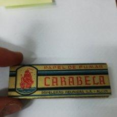 Papel de fumar: PAPEL FUMAR CARABELA. ALCOY.. Lote 139443950