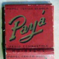 Papel de fumar: ANTIGUO PAPEL DE FUMAR PAYÄ. Lote 139609122