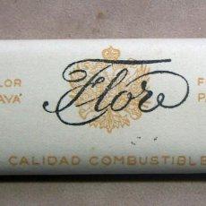 Papel de fumar: ANTIGUO PAPEL DE FUMAR FLOR PAYA S.A. PAYA MIRALLES. VALENCIA ALARGADO. Lote 139737094
