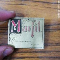 Papel de fumar: PAPEL FUMAR MARFIL.. Lote 139444530