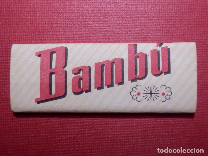 PAPEL DE FUMAR - BAMBU - SOBRINOS DE R. ABAD - SANTONJA - ALCOY (Coleccionismo - Objetos para Fumar - Papel de fumar )