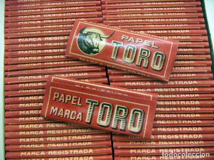 Papel de fumar: CAJA CON 100 UNIDADES DE PAPEL DE FUMAR TORO ALARGADOS - Foto 2 - 142629490