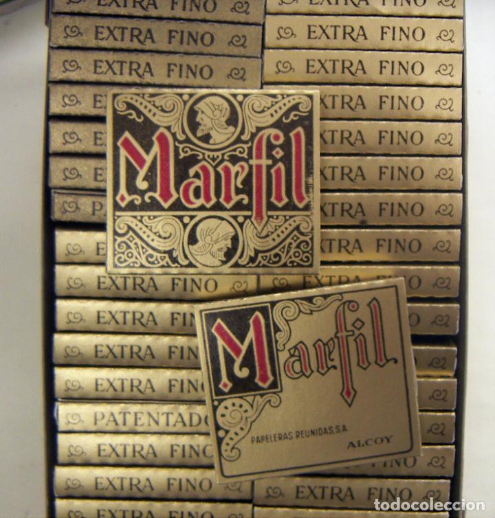 CAJA CON 48 UNIDADES DE PAPEL DE FUMAR MARFIL CUADRADOS (Coleccionismo - Objetos para Fumar - Papel de fumar )