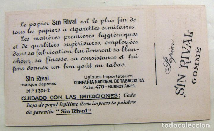 Papel de fumar: PAPEL DE FUMAR SIN RIVAL - MUY RARO - Foto 2 - 142740954