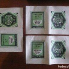 Papel de fumar: ANTIGUO PAPEL DE FUMAR/ENVOLTORIO (3 UNIDADES)-PICADO FINO SUPERIOR,25GRAMOS. Lote 143165182
