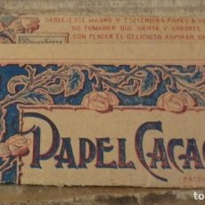 Papel de fumar: PAPEL DE FUMAR - PAPEL CACAO. Lote 143685102