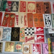 Papel de fumar: COLECCIÓN DE LIBRITOS DE PAPEL DE FUMAR. Lote 144128126