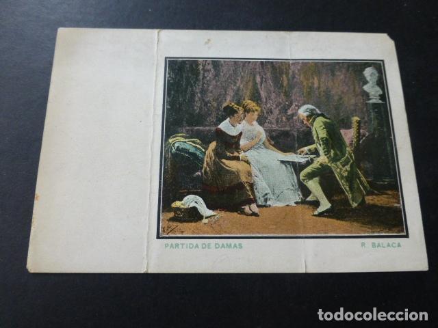 PAPEL DE FUMAR LAYANA ZARAGOZA ENVUELTA DE LIBRILLO SIGLO XIX PARTIDA DE DAMAS R. BALACA (Coleccionismo - Objetos para Fumar - Papel de fumar )