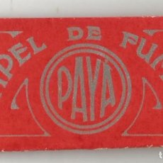 Papel de fumar: PAPEL DE FUMAR PAYA . Lote 147947390