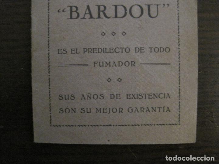 Papel de fumar: PAPEL DE FUMAR-ALMANAQUE AÑO 1927- PUBLICIDAD PAPEL DE ALQUITRAN NORUEGO BARDOU-VER FOTOS-(V-15.890) - Foto 3 - 149375942