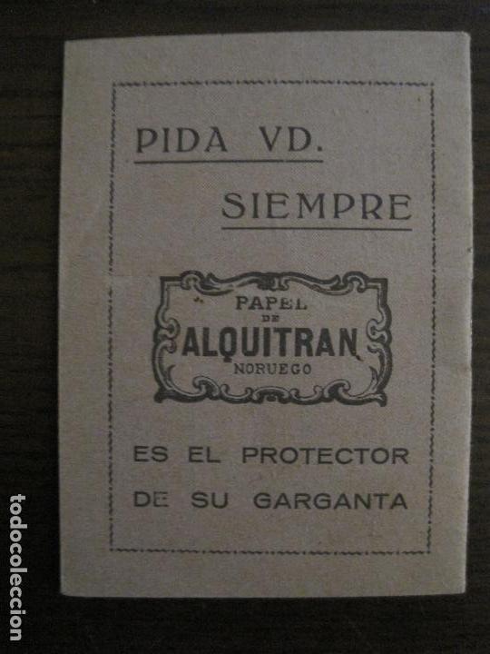Papel de fumar: PAPEL DE FUMAR-ALMANAQUE AÑO 1927- PUBLICIDAD PAPEL DE ALQUITRAN NORUEGO BARDOU-VER FOTOS-(V-15.890) - Foto 4 - 149375942