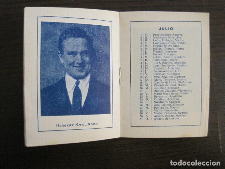 Papel de fumar: PAPEL DE FUMAR-ALMANAQUE AÑO 1927- PUBLICIDAD PAPEL DE ALQUITRAN NORUEGO BARDOU-VER FOTOS-(V-15.890) - Foto 11 - 149375942