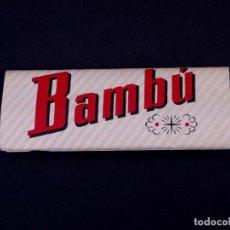 Papel de fumar: PAPEL DE FUMAR BAMBU. ALCOY. Lote 149850722