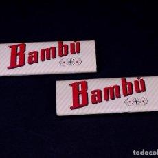 Papel de fumar: PAPEL DE FUMAR BAMBU, LOTE 2 UDS. ALCOY. Lote 149850850