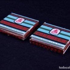 Papel de fumar: PAPEL DE FUMAR CARABELA, LOTE 2 UDS. ALCOY. Lote 149851342