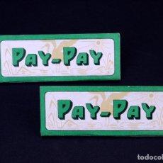 Papel de fumar: PAPEL DE FUMAR PAY-PAY, LOTE 2 UDS. ALCOY. Lote 149853606