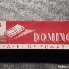 Papel de fumar: PAPEL DE FUMAR - DOMINOL - ENGOMADO - PAPELERAS REUNIDAS S.A. - COMPLETO. Lote 150699498