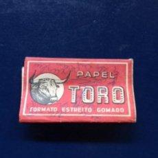 Papel de fumar: PAPEL DE FUMAR TORO. Lote 151887334