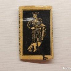 Papel de fumar: PAPEL DE FUMAR EL TORERO, J. LAPORTA VALOR, ALCOY, 8X5 CM. Lote 152629470