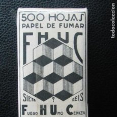Papel de fumar: PAPEL DE FUMAR FHUC 500. Lote 154346634