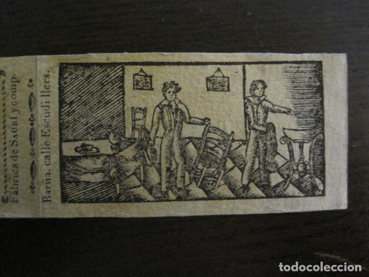 Zigarettenpapiere: ENVOLTORIO PAPEL DE FUMAR SAURI Y COMP-SIGLO XIX-BARCELONA-VER FOTOS-(V-16.139) - Foto 3 - 155673198