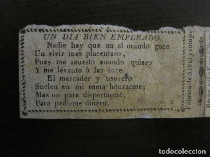 Papel de fumar: ENVOLTORIO PAPEL DE FUMAR SAURI Y COMP-SIGLO XIX-BARCELONA-VER FOTOS-(V-16.142) - Foto 2 - 155673750