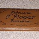 Papel de fumar: PAPEL DE FUMAR PARA LA PIPA - FABRICANTE F. ROGER BARCELONA. Lote 160311698
