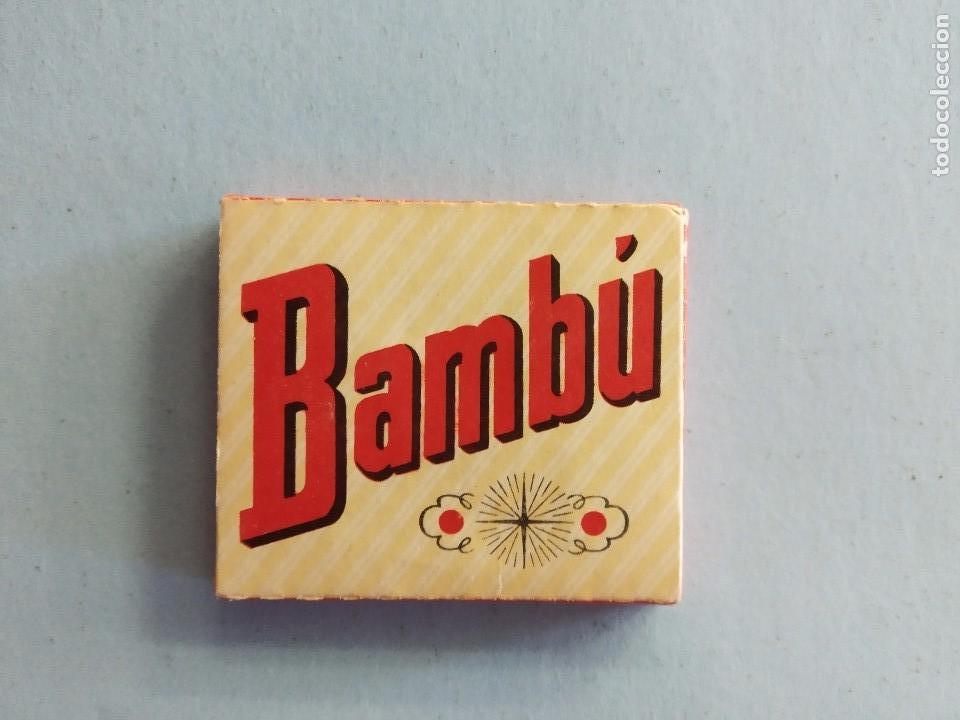 Papel de fumar: LIBRILLO PAPEL FUMAR BAMBÚ - ALCOY - Foto 2 - 163354002
