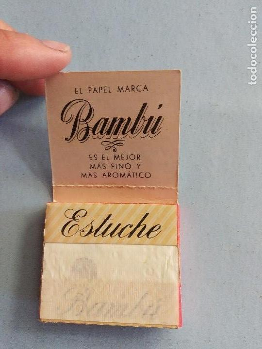 Papel de fumar: LIBRILLO PAPEL FUMAR BAMBÚ - ALCOY - Foto 3 - 163354002