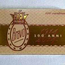 Papel de fumar: PAPEL DE FUMAR BRAVO DEL CENTENARIO 1914-2014. Lote 171790105