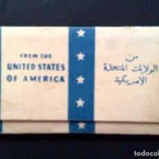 Papel de fumar: LIBRITO PAPEL DE FUMAR,FROM UNITED STATES OF AMERICA,POR ESTRENAR (DESCRIPCIÓN). Lote 165923846
