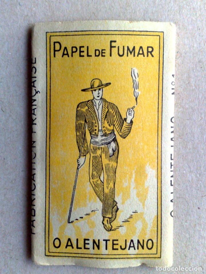 LIBRITO PAPEL DE FUMAR,O ALENTEJANO Nº1,FABR. EXCLUSIVO A.SEARA,POR ESTRENAR (DESCRIPCIÓN) (Coleccionismo - Objetos para Fumar - Papel de fumar )