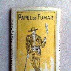 Papel de fumar: LIBRITO PAPEL DE FUMAR,O ALENTEJANO Nº1,FABR. EXCLUSIVO A.SEARA,POR ESTRENAR (DESCRIPCIÓN). Lote 165924418