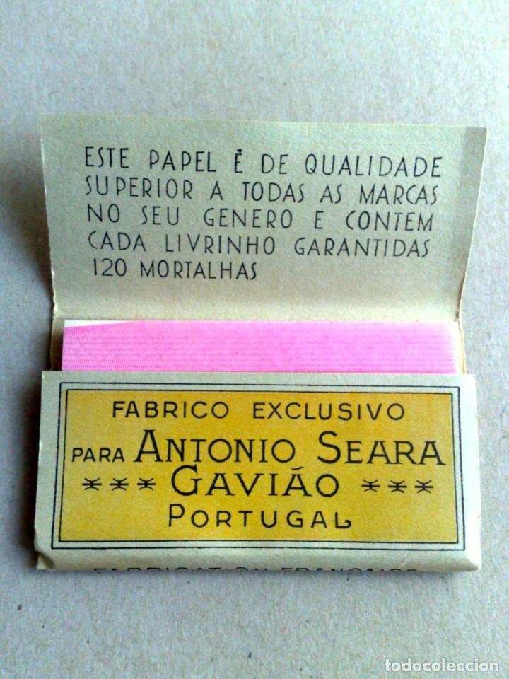 Papel de fumar: LIBRITO PAPEL DE FUMAR,O ALENTEJANO Nº1,FABR. EXCLUSIVO A.SEARA,POR ESTRENAR (DESCRIPCIÓN) - Foto 2 - 165924418