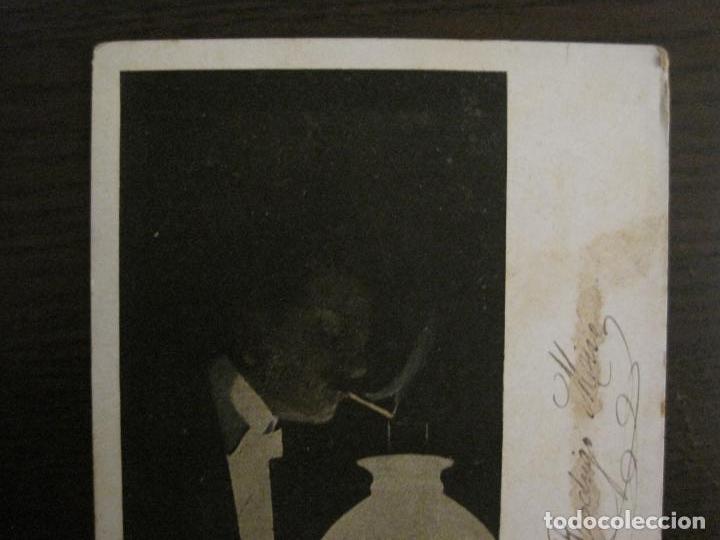 Papel de fumar: PAPEL DE FUMAR ROCA-POSTAL PUBLICITARIA MODERNISTA-REVERSO SIN DIVIDIR-VER FOTOS-(59.907) - Foto 2 - 166815762