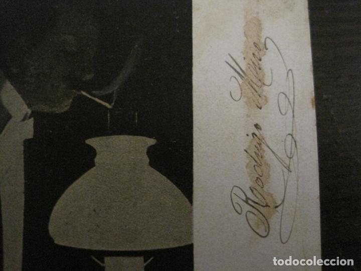 Papel de fumar: PAPEL DE FUMAR ROCA-POSTAL PUBLICITARIA MODERNISTA-REVERSO SIN DIVIDIR-VER FOTOS-(59.907) - Foto 5 - 166815762