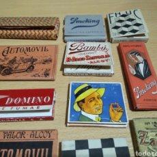 Papel de fumar: LOTE LIBRITOS DE PAPEL DE FUMAR. Lote 167405828